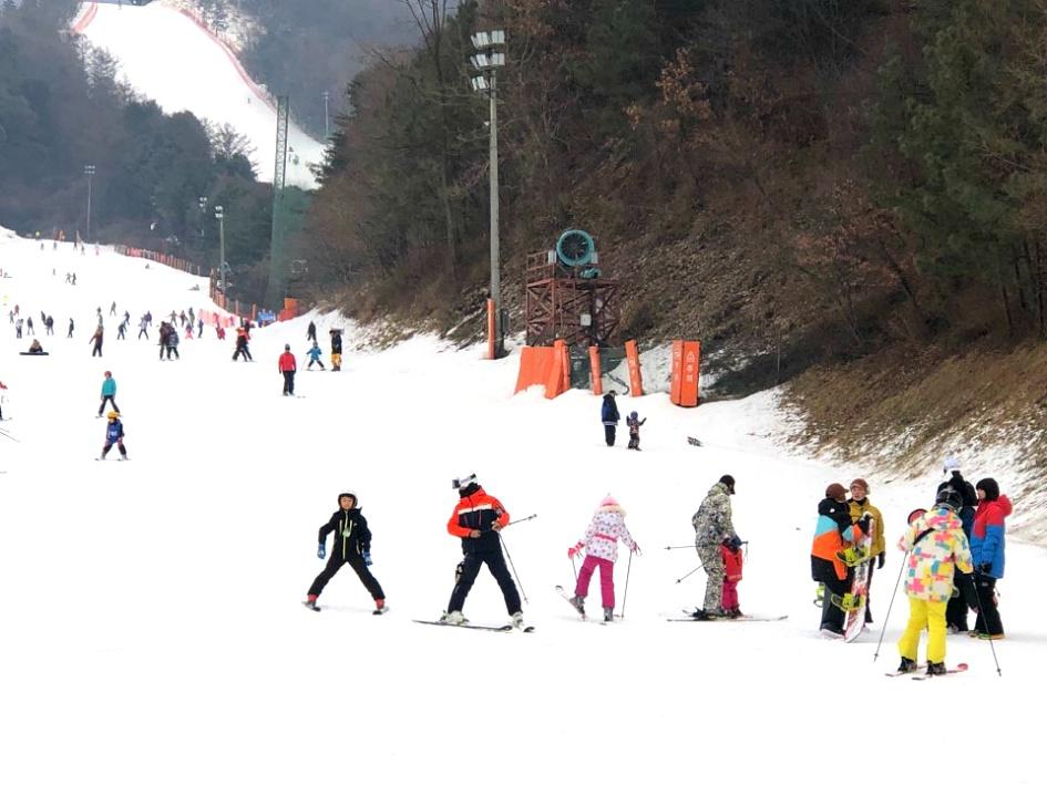 큰 손자 박한율군의 스키장에서의 하루
