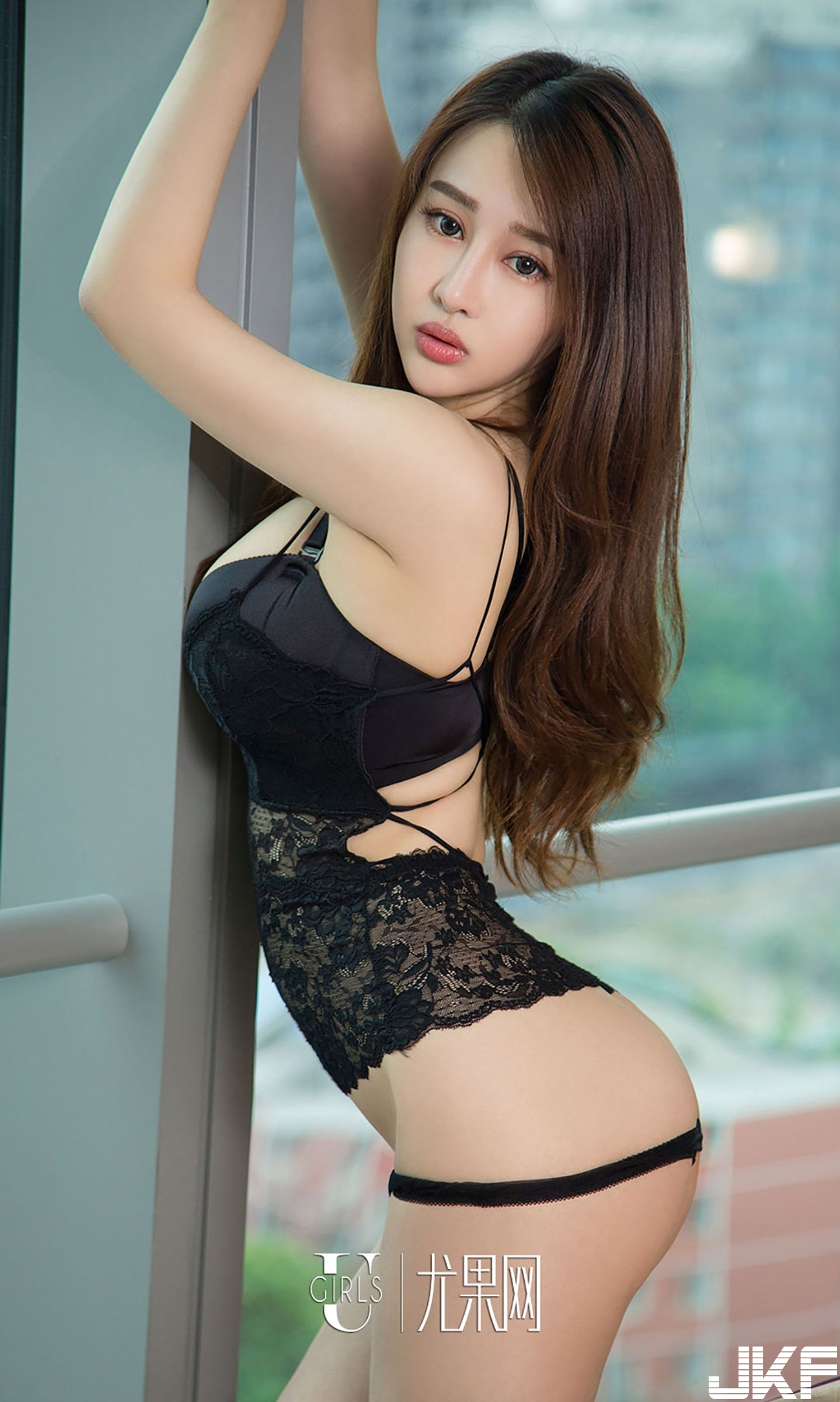 hot lingerie curvy Chinese glamour
