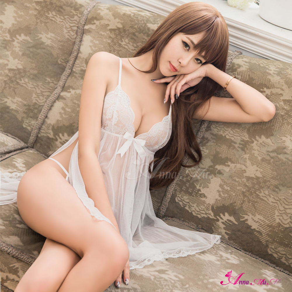 hot Chinese women in see through lingerie