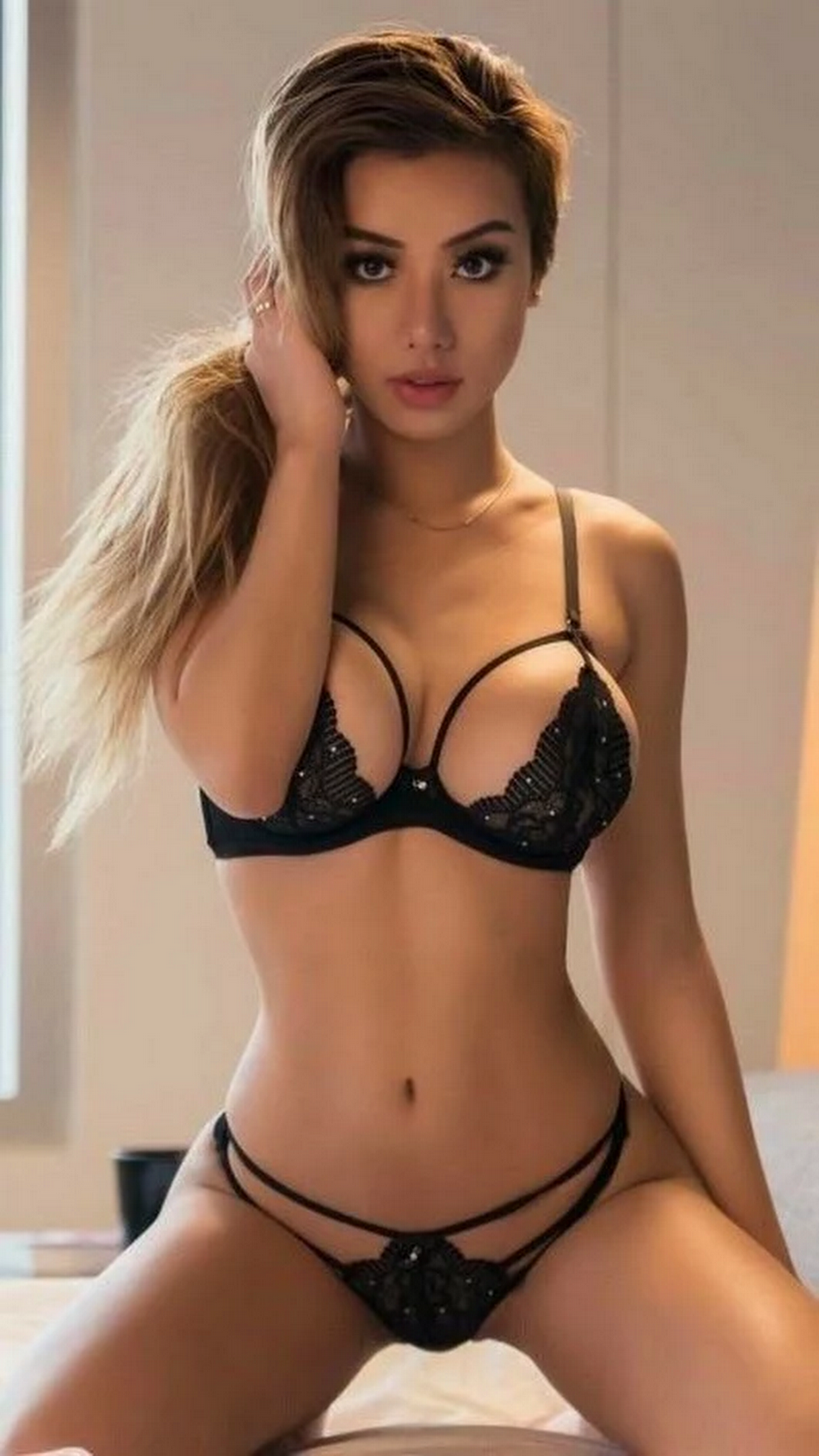 hot body in sexy lingerie