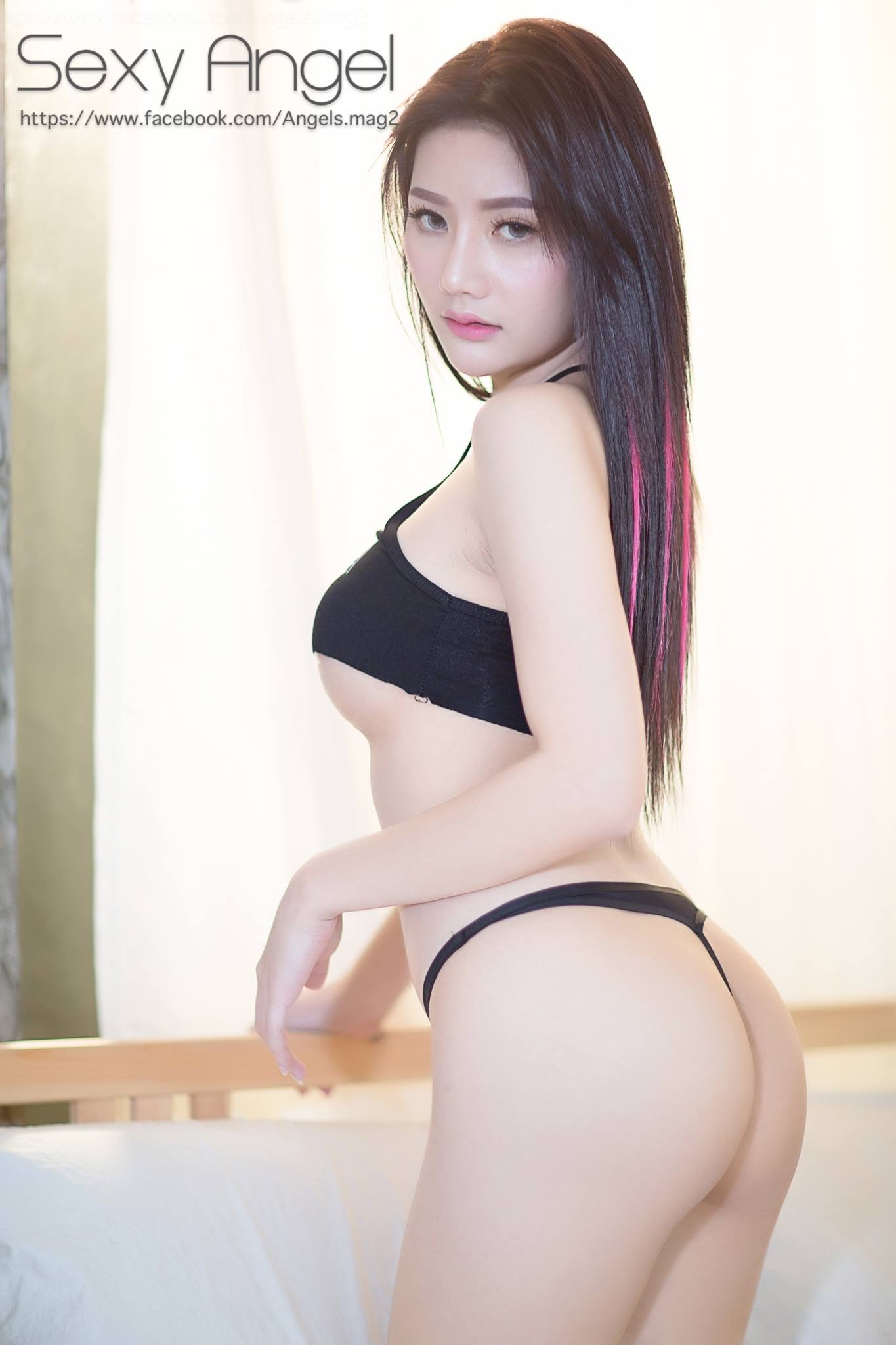 hot wearing Asian girl