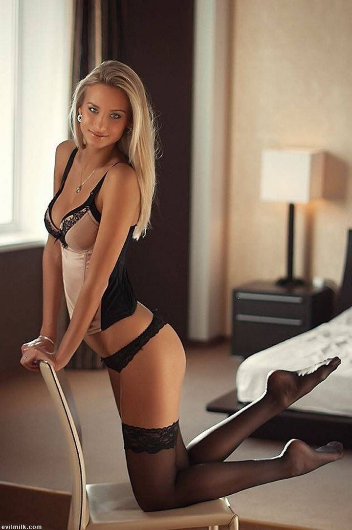 hot girl in lingerie
