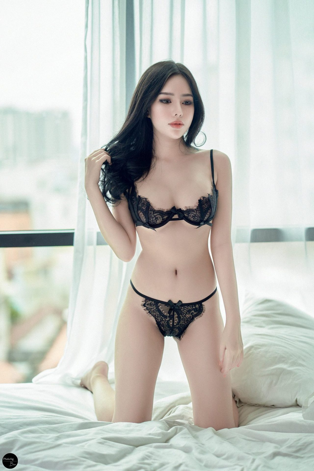 cool girl in sexy lingerie